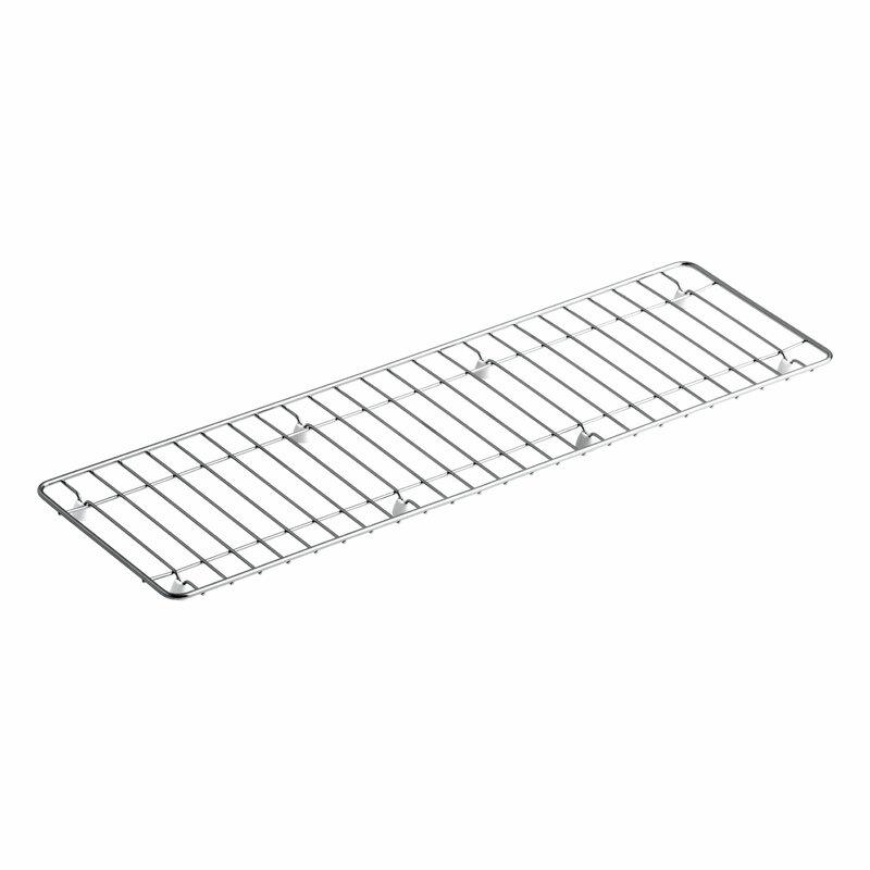 """Undertone Stainless Steel Sink Rack, 25-3/16"""" x 7-11/16"""""""