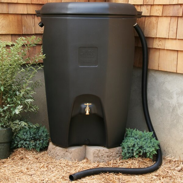Moby 65 Gallon Rain Barrel by Rain Water Solutions