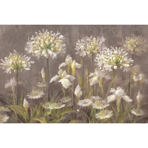 Spring Blossoms Painting Print on Wrapped Canvas by East Urban Home