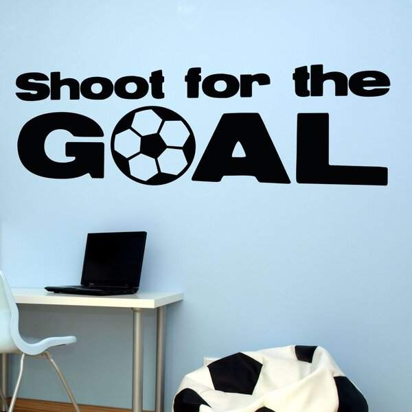 Shoot for the Goal Wall Decal by Alphabet Garden Designs