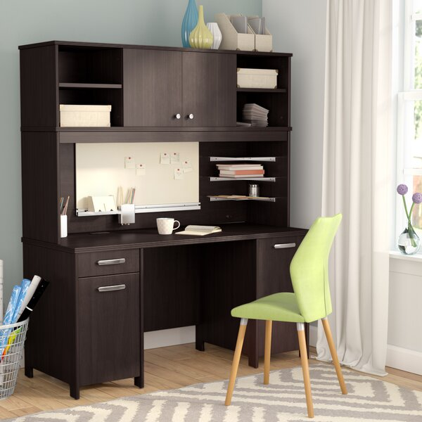 Benter Desk with Hutch by Latitude Run