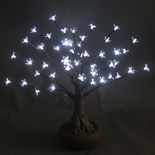 Bonsai Tree with 48 LED Lights by Hi-Line Gift Ltd.