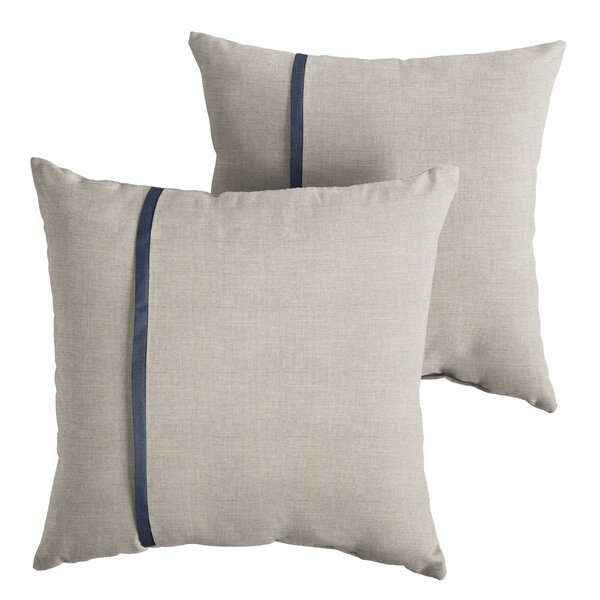 Covarrubias Indoor/Outdoor Throw Pillow (Set of 2) by 17 Stories