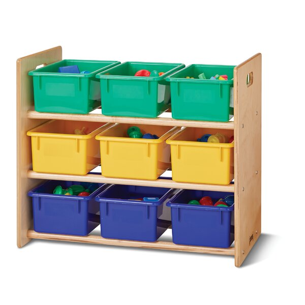 Double Sided 3 Compartment Cubby by Jonti-Craft