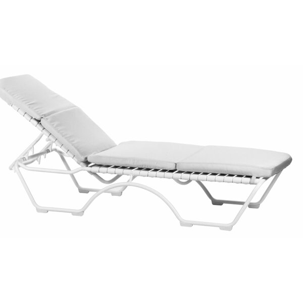 Kahana Indoor/Outdoor Chaise Lounge Cushion by Tropitone Tropitone