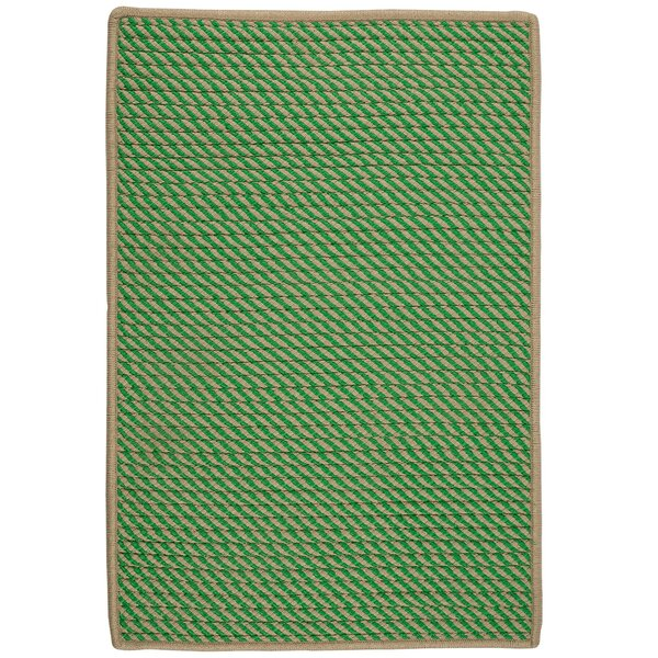 Mammari Hand-Woven Green Indoor/Outdoor Area Rug by Bay Isle Home