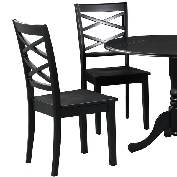Find Spillers Solid Wood Dining Chair (Set Of 2) By Winston Porter Best