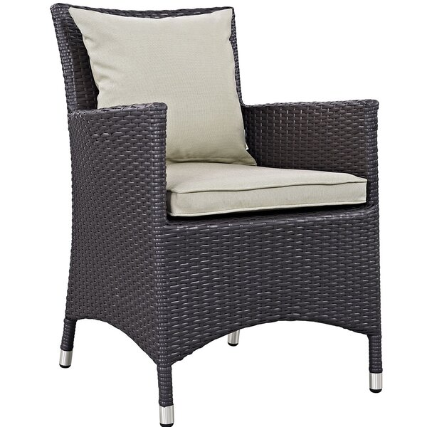 Brentwood Patio Dining Chair with Cushion by Sol 72 Outdoor Sol 72 Outdoor