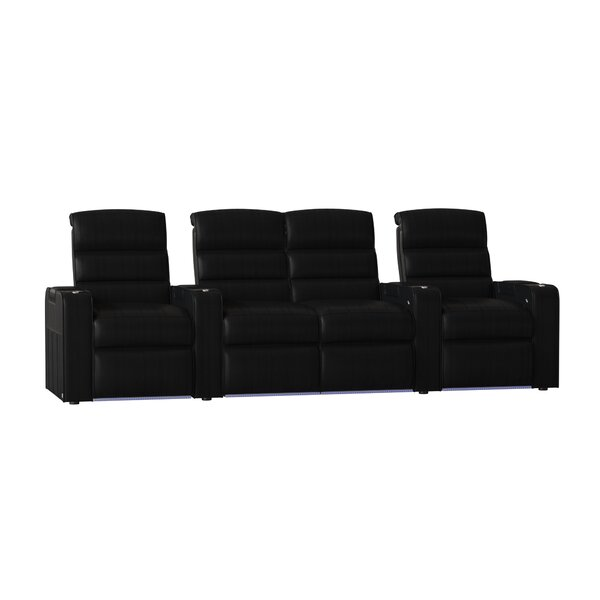 Magnum HR Series Home Theater Loveseat (Row Of 4) By Red Barrel Studio
