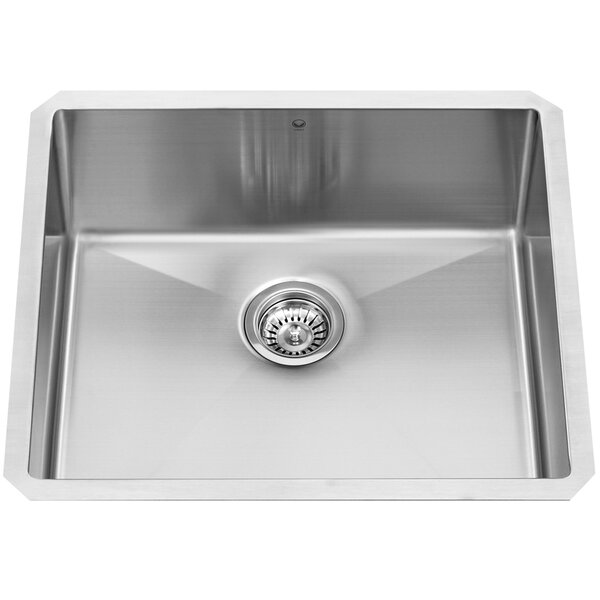 Mercer 32 L x 19 W Undermount Kitchen Sink by VIGO