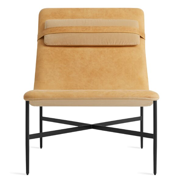 Deep Thoughts Leather Lounge Chair By Blu Dot