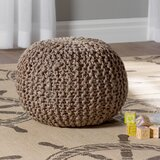 Odin Pouf by Beachcrest Home