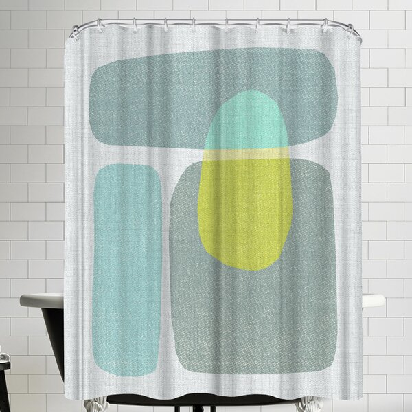 Annie Bailey Pods No VI Shower Curtain by East Urban Home