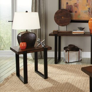 Inexpensive Micaela End Table ByUnion Rustic