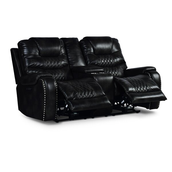 Chic Palma Reclining Loveseat Remarkable Deal on