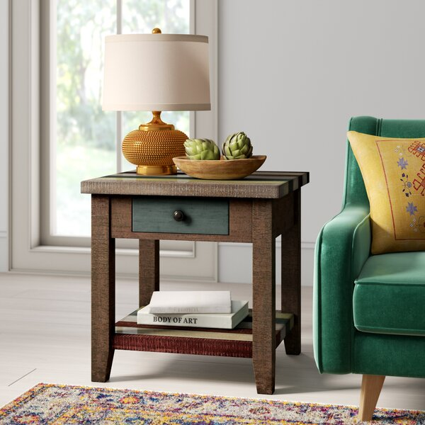 Guadalupe Ridge End Table By Loon Peak