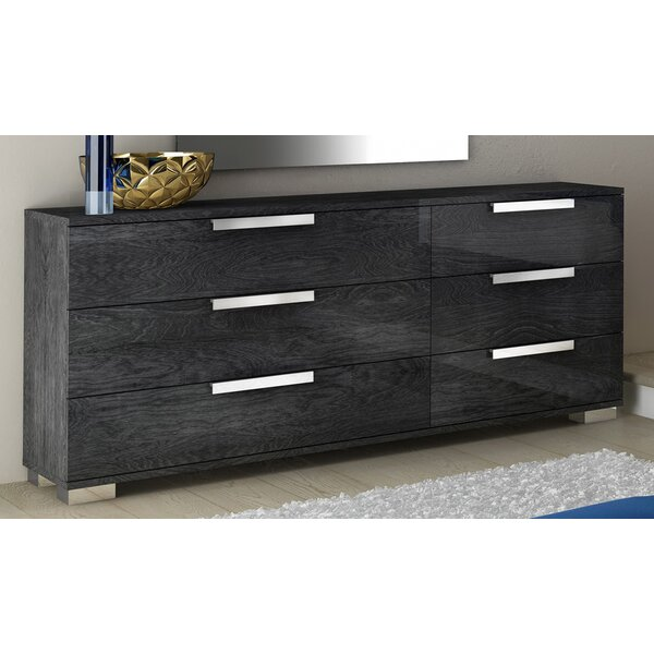 Thurner 6 Drawer Double Dresser By Wrought Studio by Wrought Studio Best #1
