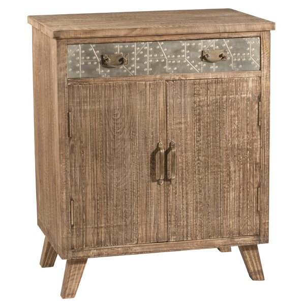 Corto 2 Door Accent Cabinet by Bungalow Rose
