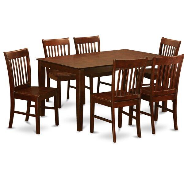Smyrna 7 Piece Dining Set by Charlton Home