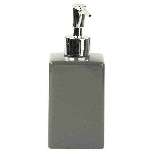 Kayson Ceramic Square Soap Dispenser by Wade Logan
