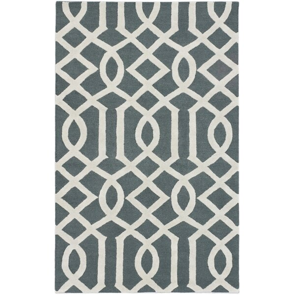 Griffing Transitional Hand Tufted Cream Area Rug by Ivy Bronx