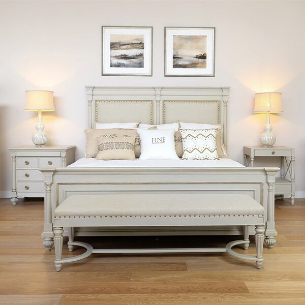 Camden Brookhaven Braemore Upholstered Bench by Fine Furniture Design