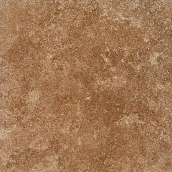Travertino 12 x 12 Porcelain Field Tile in Walnut by MSI
