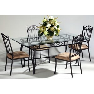 Wrought Iron Kitchen & Dining Tables You\'ll Love | Wayfair
