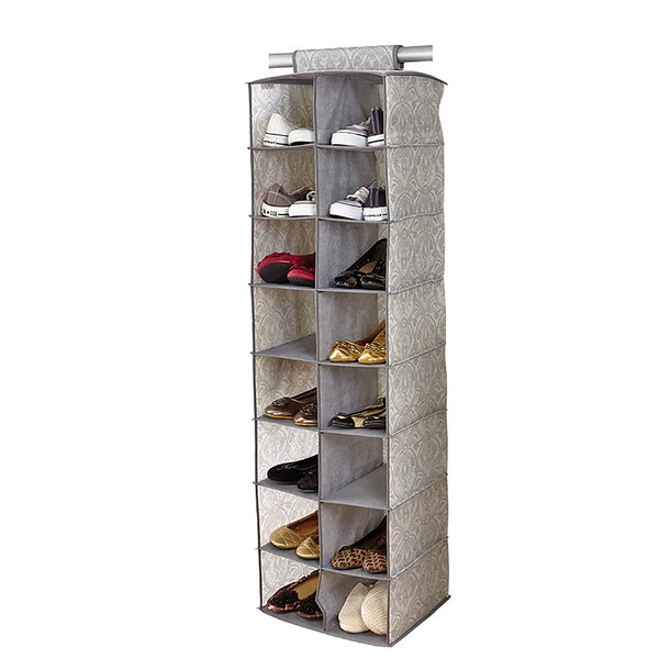 Almeida 16-Compartment Hanging Shoe Organizer by Laura Ashley Home