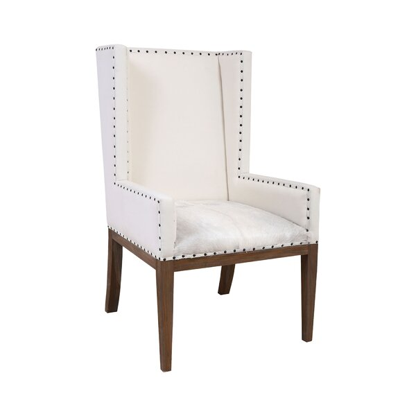 Bolanos Wingback Armchair by Darby Home Co Darby Home Co