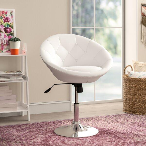 Dillman Swivel Barrel Chair by Willa Arlo Interiors