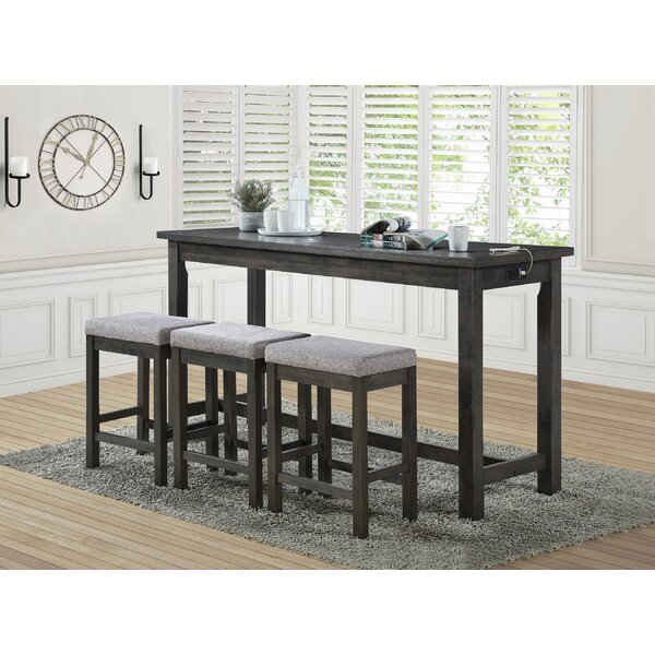 Haga 4 Piece Counter Height Dining Set By Red Barrel Studio