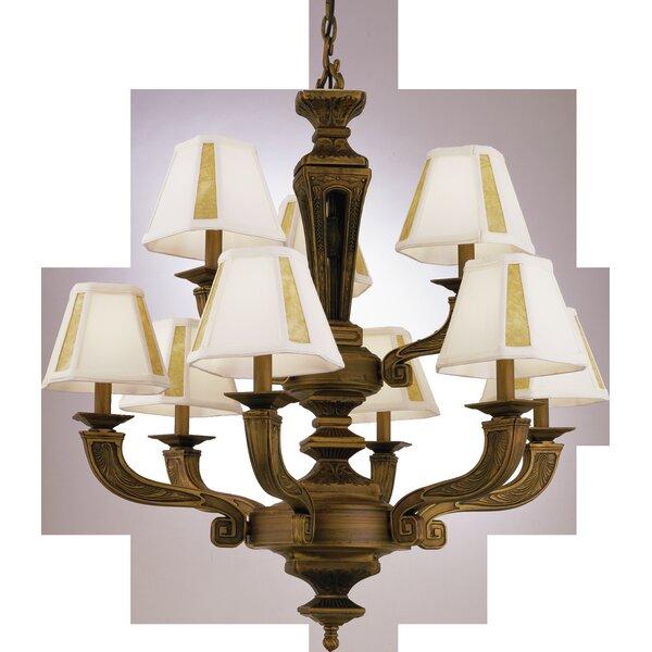 Waldon 9-Light Shaded Tiered Chandelier by Astoria Grand Astoria Grand