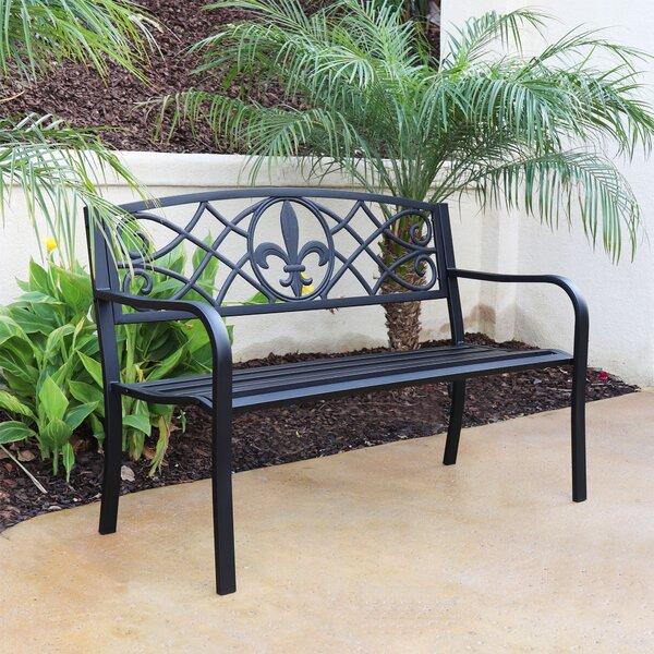 Faszcza Steel Garden Bench by Charlton Home