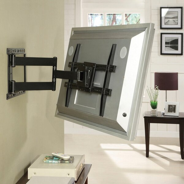 Large Full Motion Articulating ArmSwivelTilt Wall Mount For 19 - 80 Flat Panel Screens In Black By Atlantic
