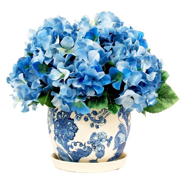 Faux Blue Hydrangea by Creative Displays, Inc.