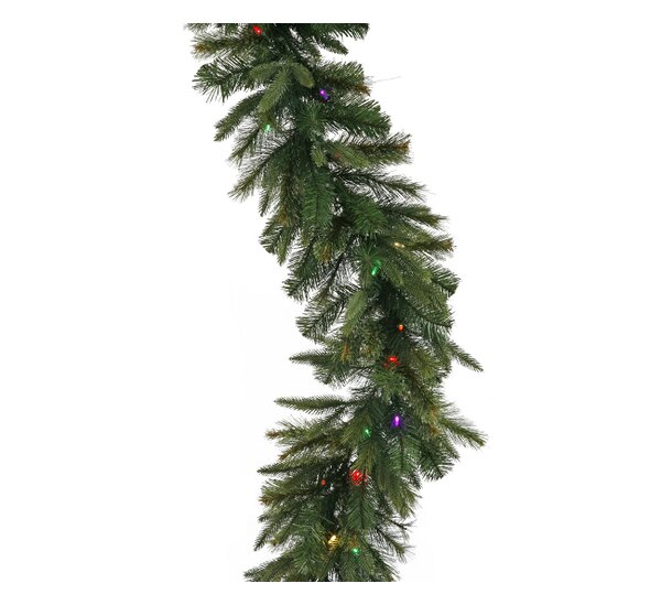 Battery Operated Cashmere Pine Christmas Garland by Vickerman