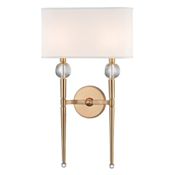 Rockland 2 Light Wallchieres By Hudson Valley Lighting.