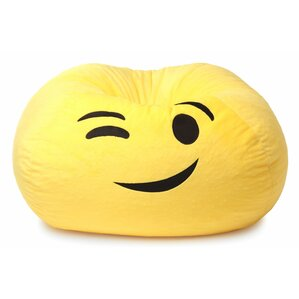 GoMoji Emoji Wink Bean Bag Chair by Ace Casual Furniture?