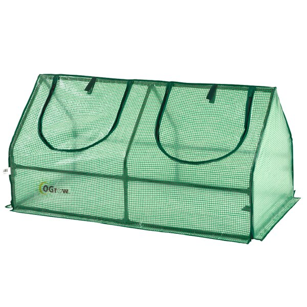 4 Ft. W x 2 Ft. D Mini Greenhouse by OGrow