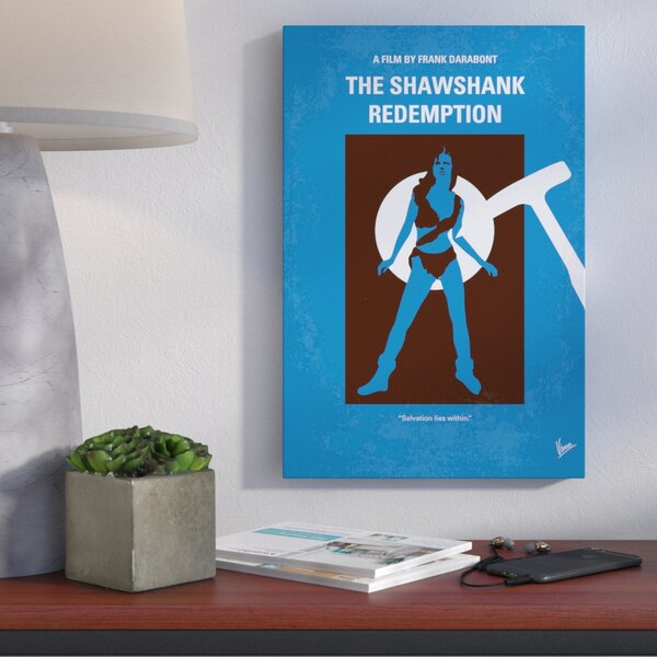 The Shawshank Redemption Vintage Advertisement on Wrapped Canvas by Wrought Studio