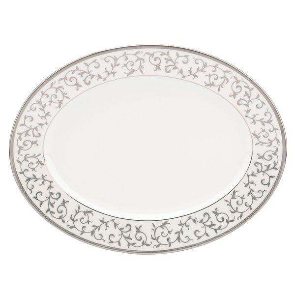 Opal Innocence Oval Platter by Lenox