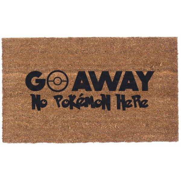 Pokemon Go Away Doormat by Coco Mats N More