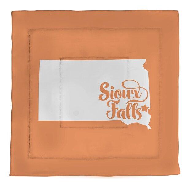 Dakota Sioux Falls South Single Reversible Comforter