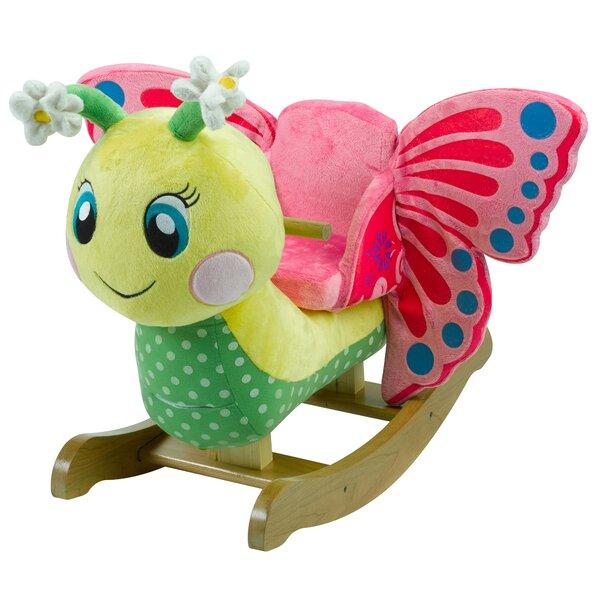 Critters Flutter Butterfly Rocker by Rockabye