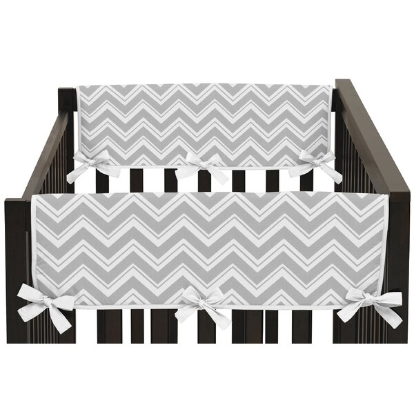 Zig Zag Rail Guard Cover (Set of 2) by Sweet Jojo Designs