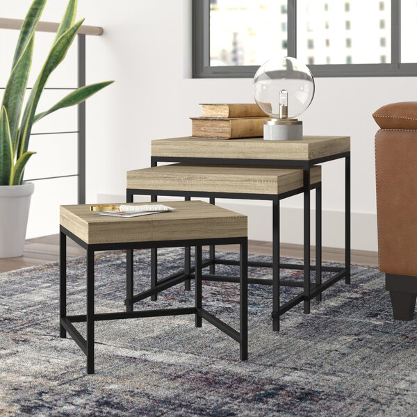 Adelbert 3 Piece Nesting Tables by Williston Forge