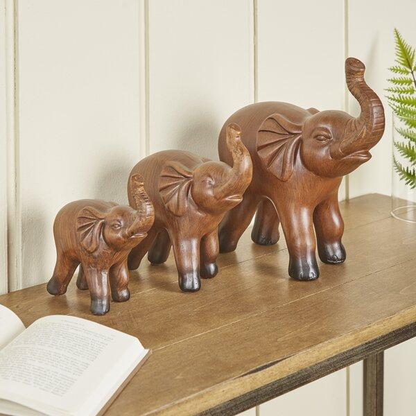 Ceramic Elephant Decor 3-Piece Set by Birch Lane™