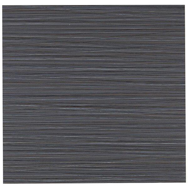 Fabrique 12 x 12 Porcelain Field Tile in Noir Linen by Daltile