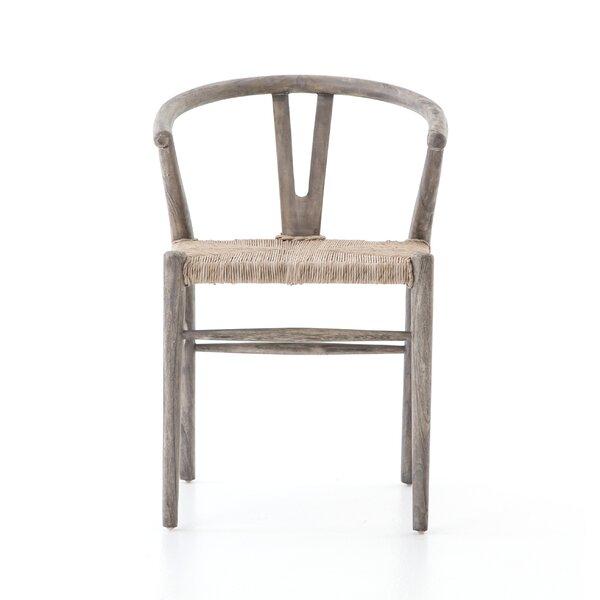Atrakchi Teak Patio Dining Chair (Set of 2) by Foundry Select